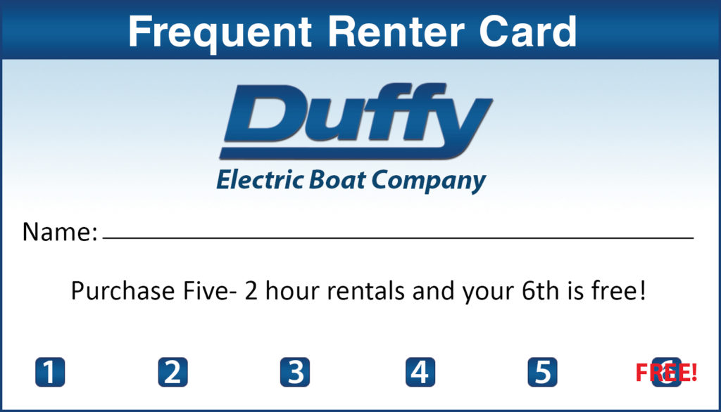 Frequent Renter Card