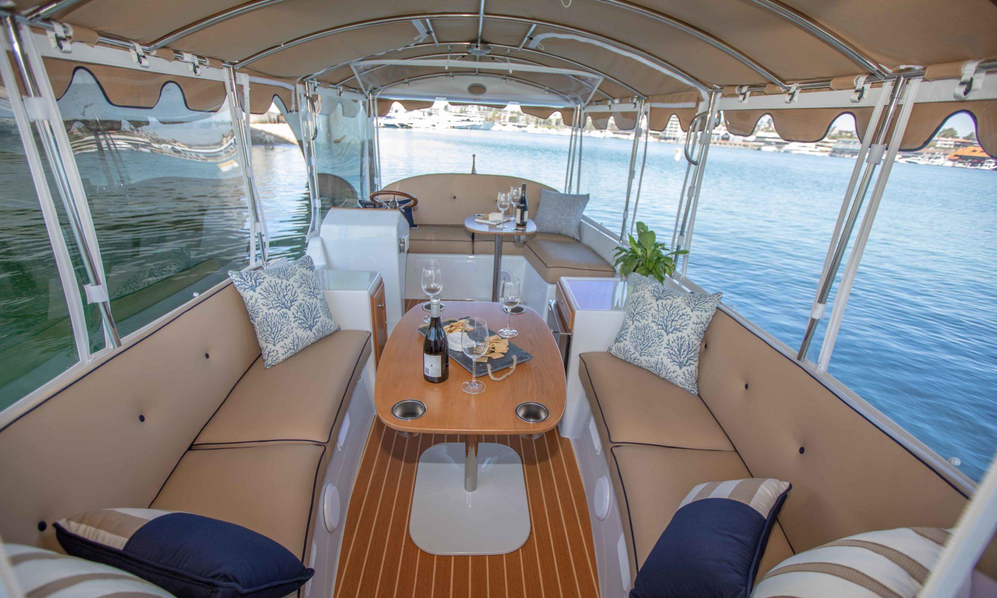 Duffy Electric Boats - 22 Cuddy Cabin
