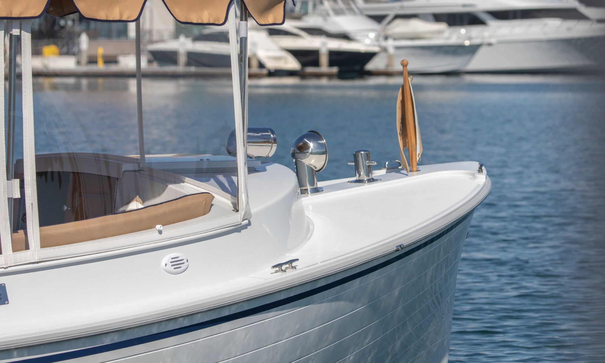 Duffy Electric Boats - 22 Cuddy Cabin Exterior