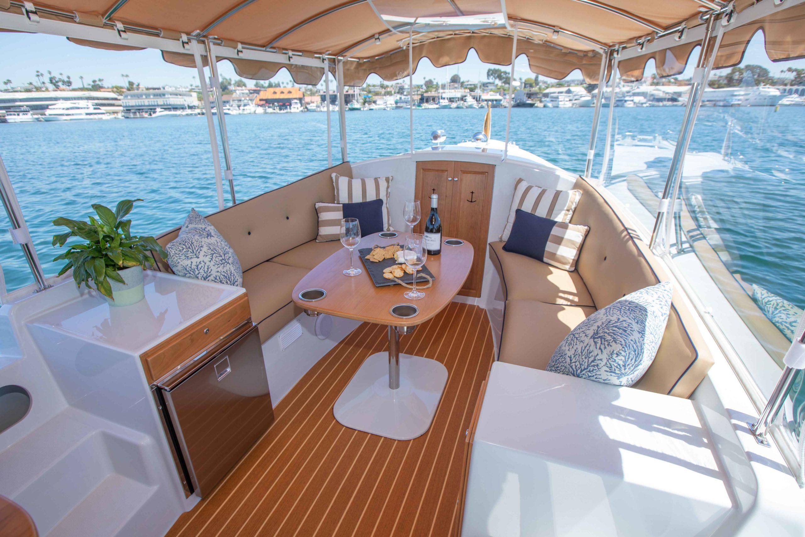 Duffy-Electric-Boats-22-Cuddy-Cabin-Interior-10