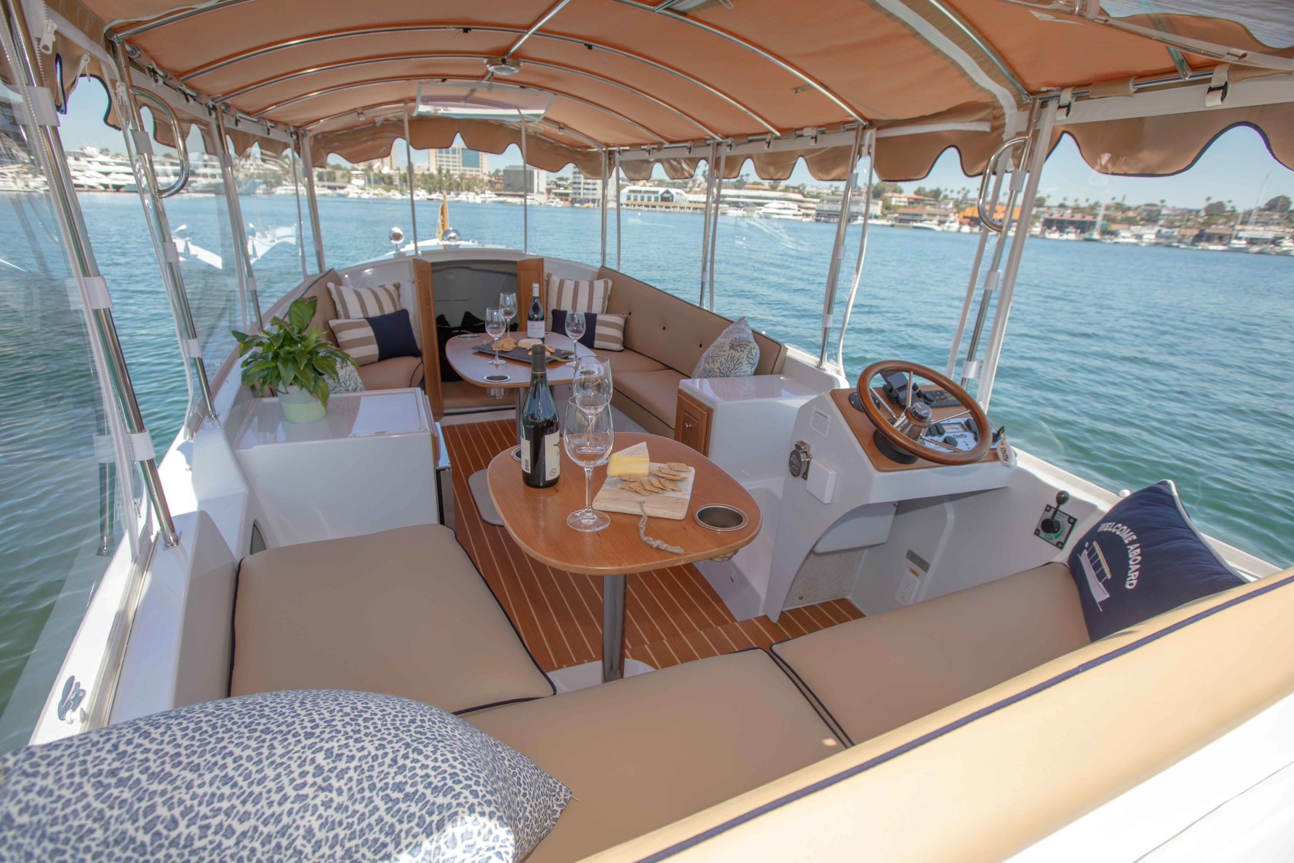 Duffy-Electric-Boats-22-Cuddy-Cabin-Interior-7