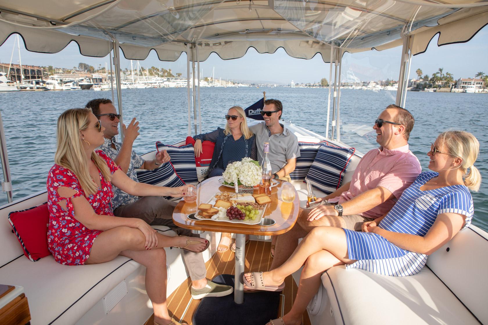 Duffy Electric Boats - Friends Interior 22 Bay Island